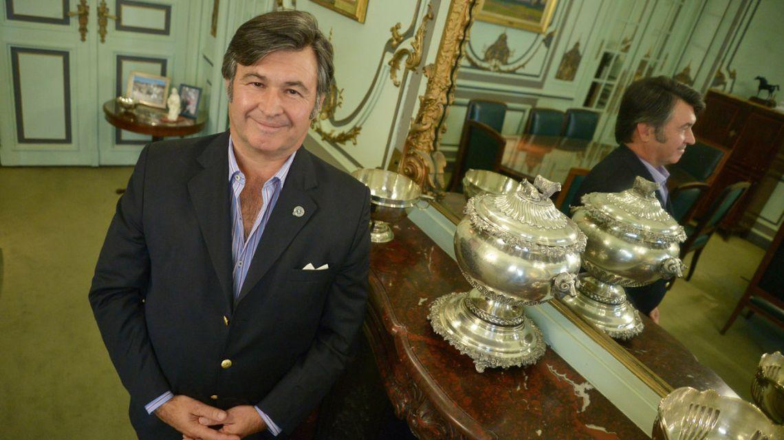 Daniel Pelegrina, head of the Rural Society of Argentina