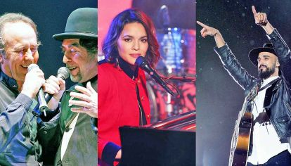 Gigantes. Joan Manuel Serrat otra vez junto a Joaquín Sabina, Norah Jones y Abel Pintos son parte de los grandes nombres que ocuparán escenarios.