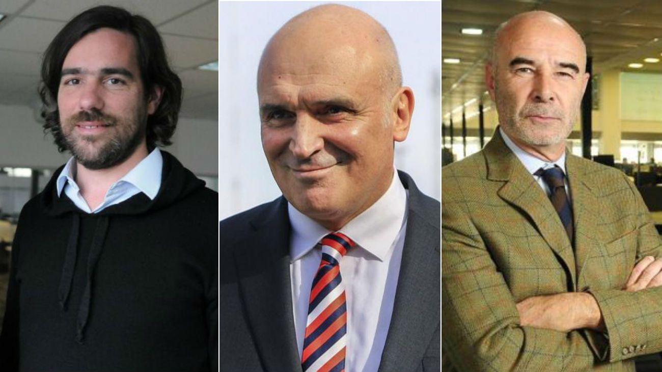 Del Caño, Espert y Gómez Centurión buscan fortalecerse y mantener o entrar al Parlamento.