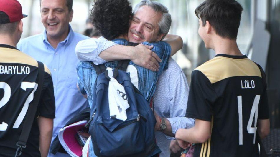 Alberto Fernández y Massa, este sábado 26 en Puerto Madero.