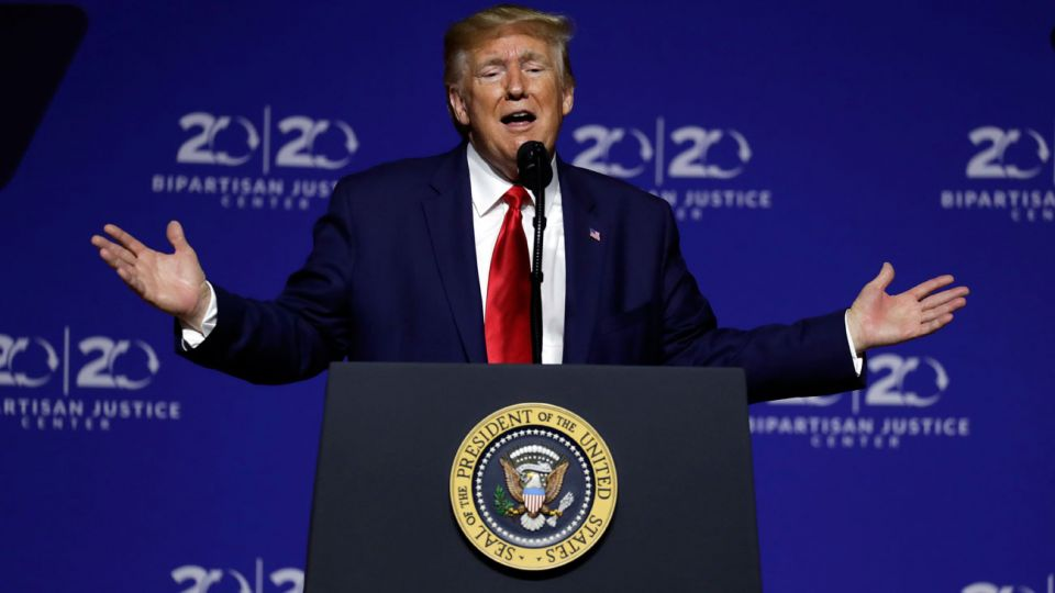 """CONFIADO. El presidente dice que China """"quiere un trato""""."""