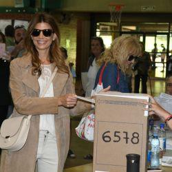 Jualiana Awada votando