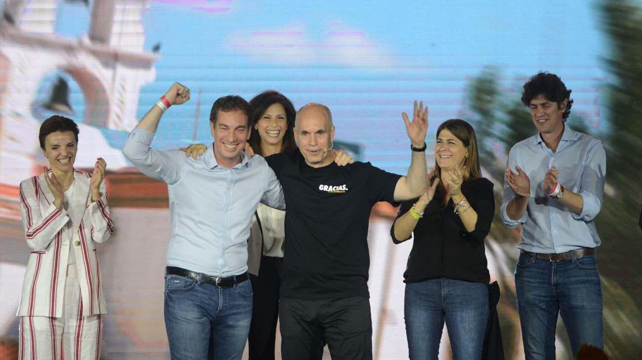 Martín Lousteau fue otros de los ganadores, junto a Horacio Rodríguez Larreta y Diego Santilli.