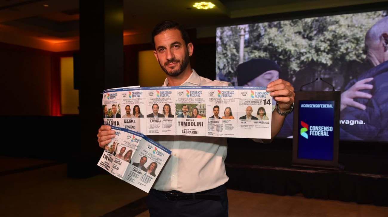 matias tombolini denunció fraude en la Ciudad de Buenos Aires.