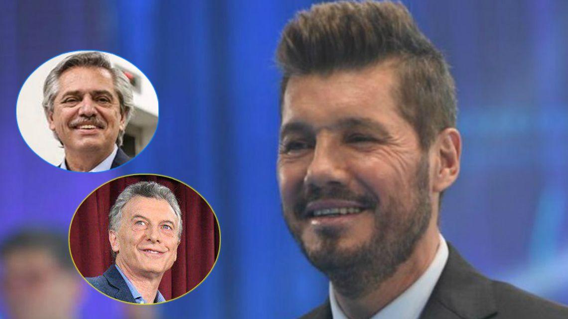 Marcelo Tinelli celebró el resultado de las elecciones