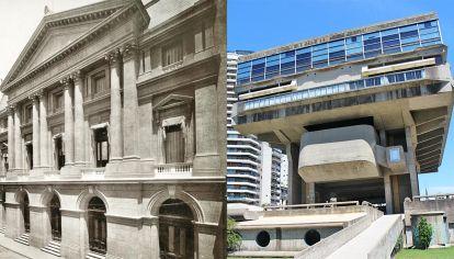 Emblemas. Las instituciones que más sufrieron los recortes fueron la sede de la calle México de la BN (que no llegó a reinaugurarse), el INCAA y la Biblioteca Nacional M. Moreno.