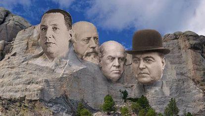 Monte Rushmore Argentino votado por la audiencia de La banda presidencial