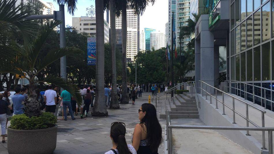Los argentinos votan en Miami.