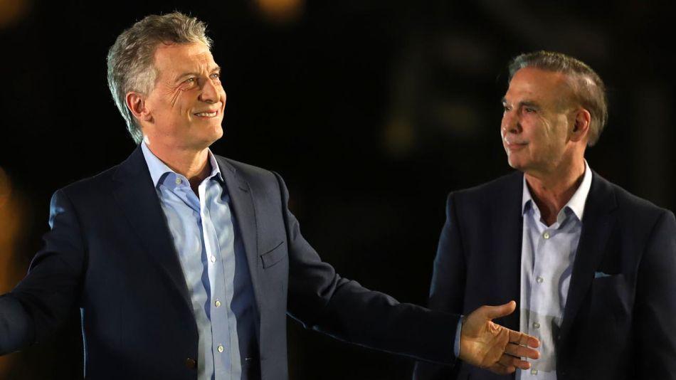 Mauricio Macri y Miguel Pichetto 20191027