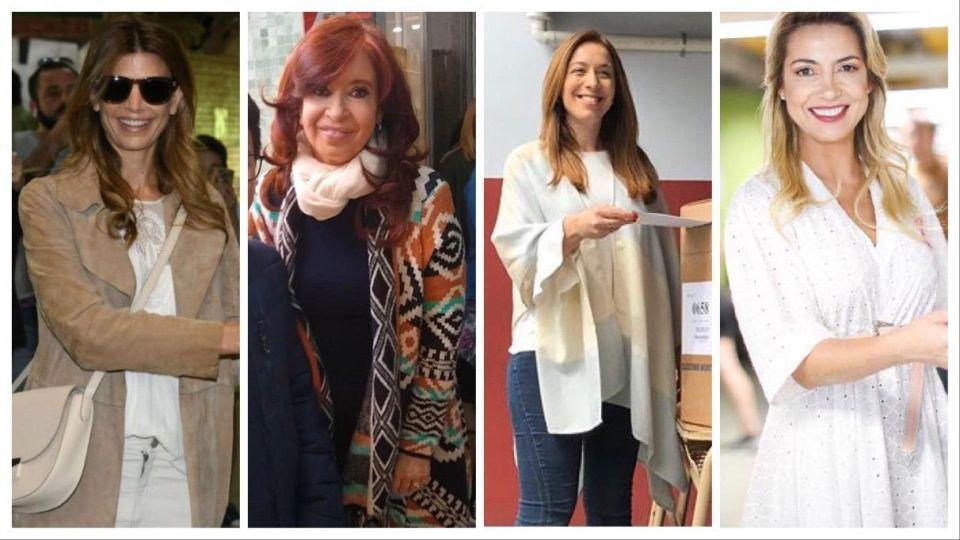 Duelo de looks: Cristina Fernández, Juliana Awada, María Eugenia Vidal y Fabiola Yanéz