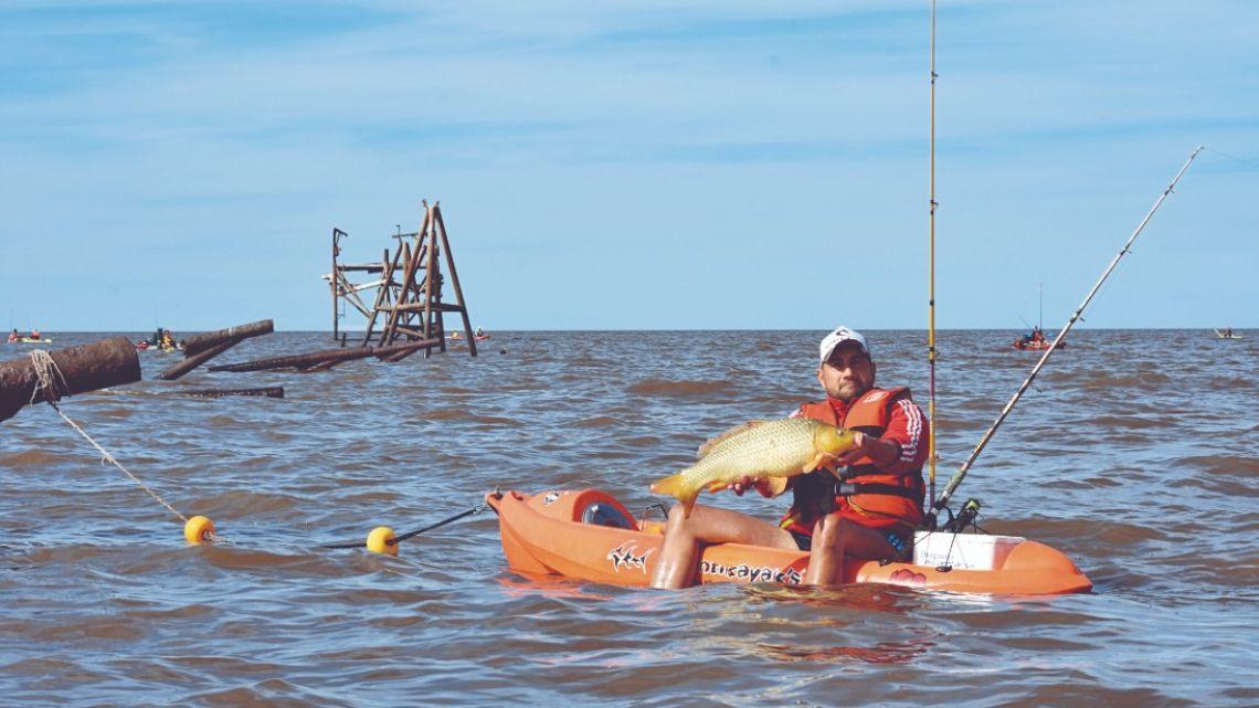 Cómo pescar bogas en La Pajarera de Quilmes