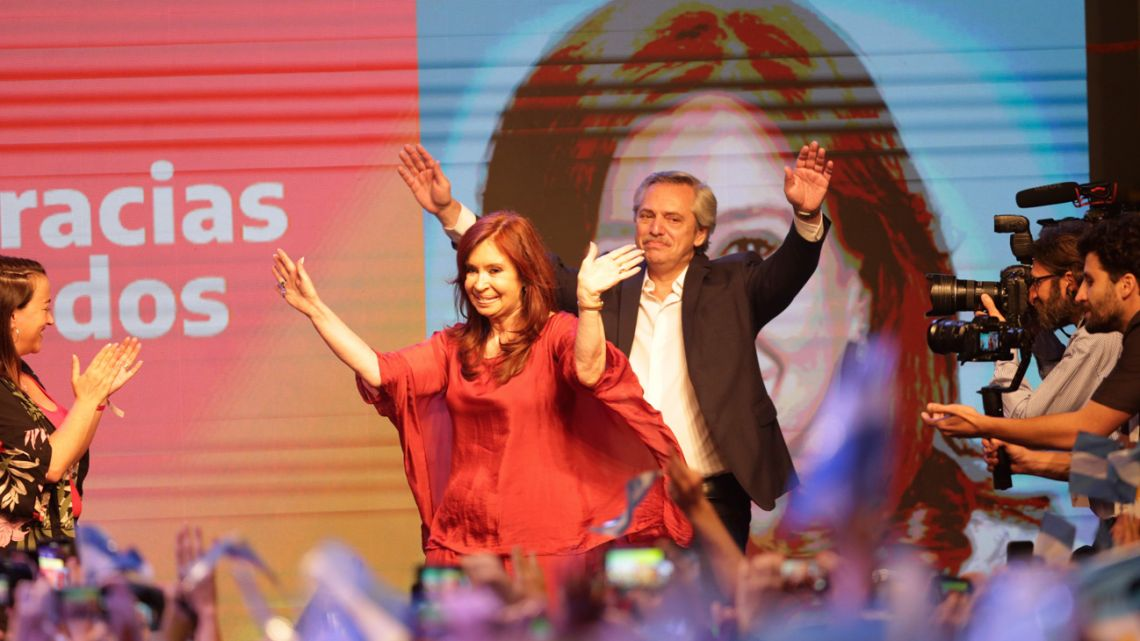 Argentine media call Fernandez election victor in worrying sign for Macri