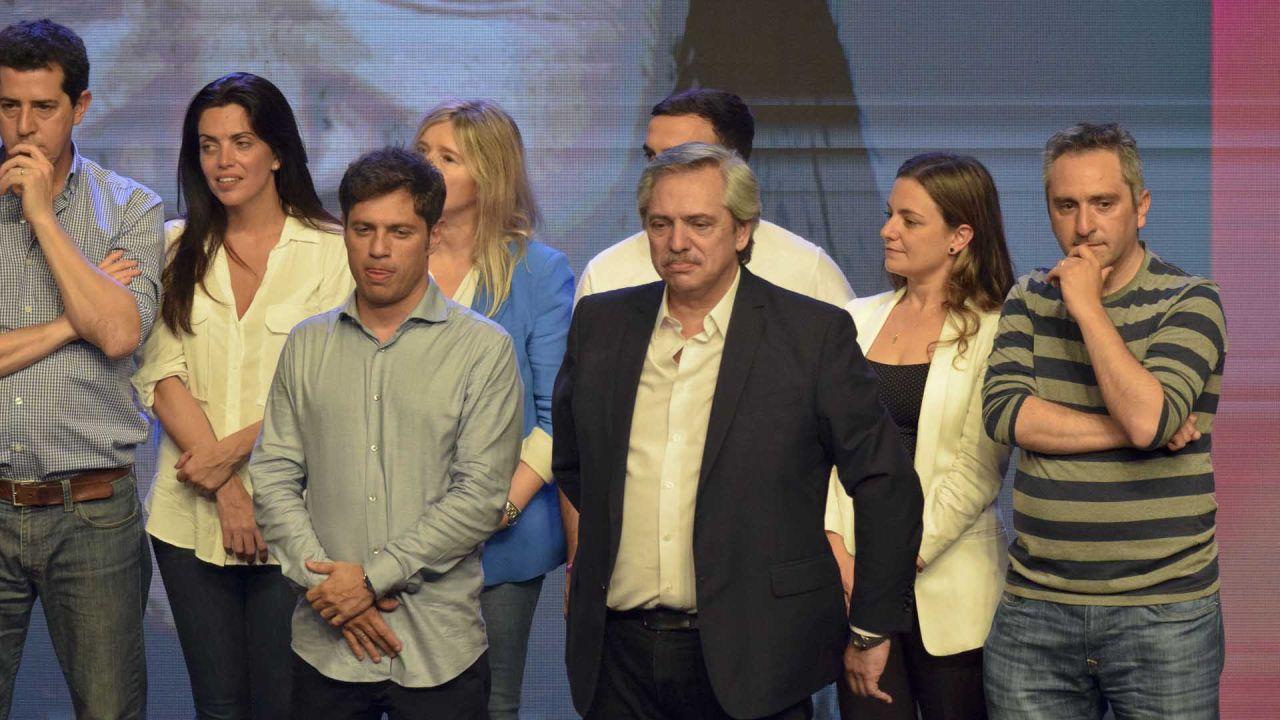 Camporista y Alberto Fernandez elecciones 2019 | Foto:Marcelo Escayola