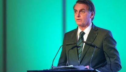 El presidente de Brasil, Jair Bolsonaro, opinó sobre le resultado electoral del 27 de octubre que dio como mandatario electo de la Argentina a Alberto Fernández.