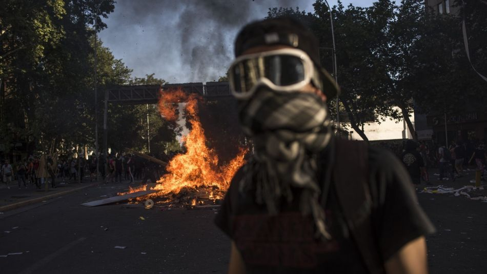 Chile Endures 4th Day Of Protests In Worst Unrest In Decades