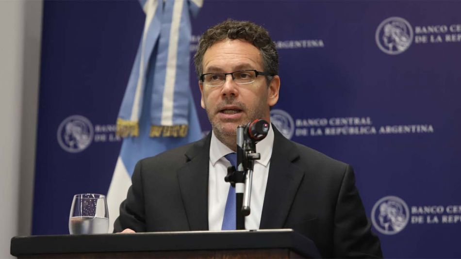Guido Sandleris, presidente del BCRA