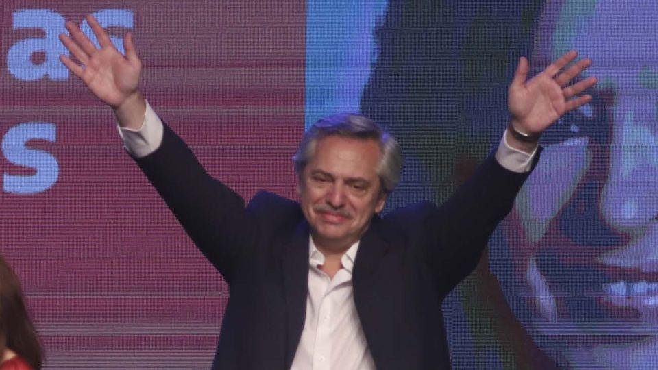 Alberto Fernández, presidente electo