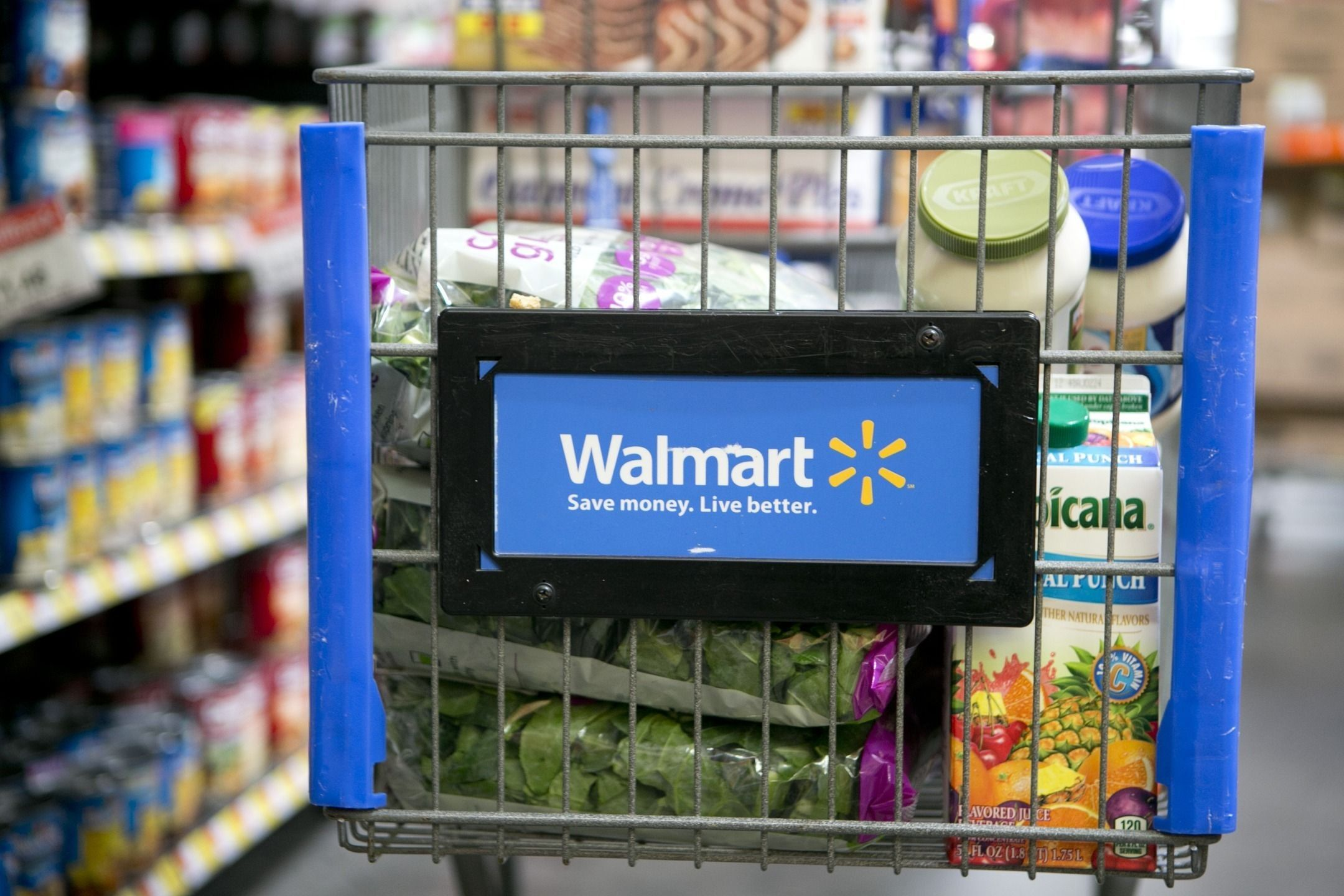 Walmart Will Put the Groceries in the Fridge While You're Out