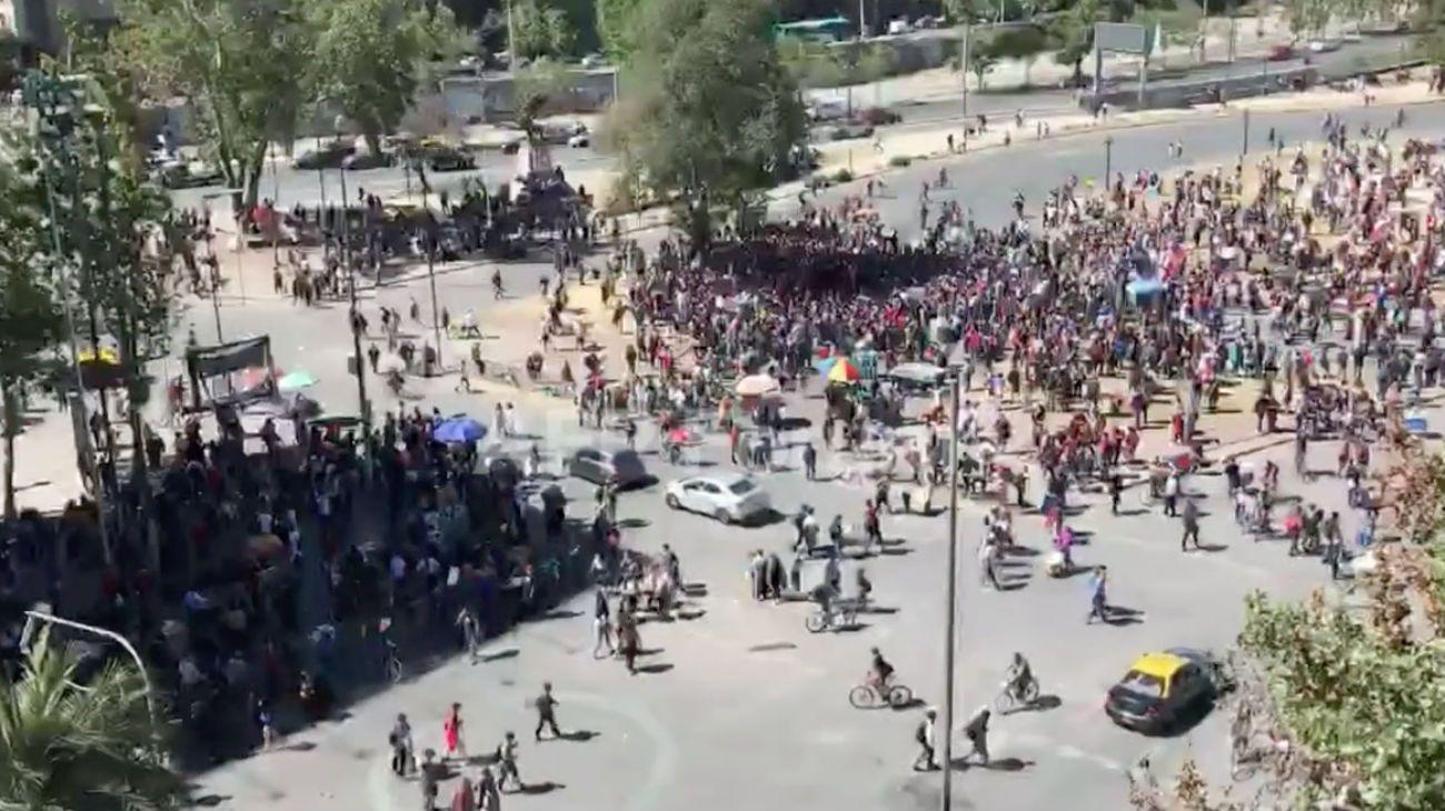 """Chile se prepara para la """"segunda marcha más grande"""" de los últimos días frente al palacio de La Moneda"""