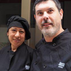 Sergi Ballús y su pareja Rose Rivas son los cocineros del resturante Occi.