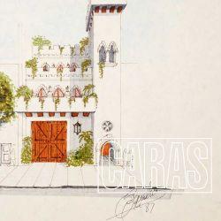 Descubrí cada detalle del castillo medieval de Sandro, en Boedo