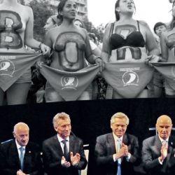 EN SILENCIO. En el debate, los principales candidatos no se destacaron por presentar propuestas con perspectiva de género. | Foto:Fotos: Cedoc.