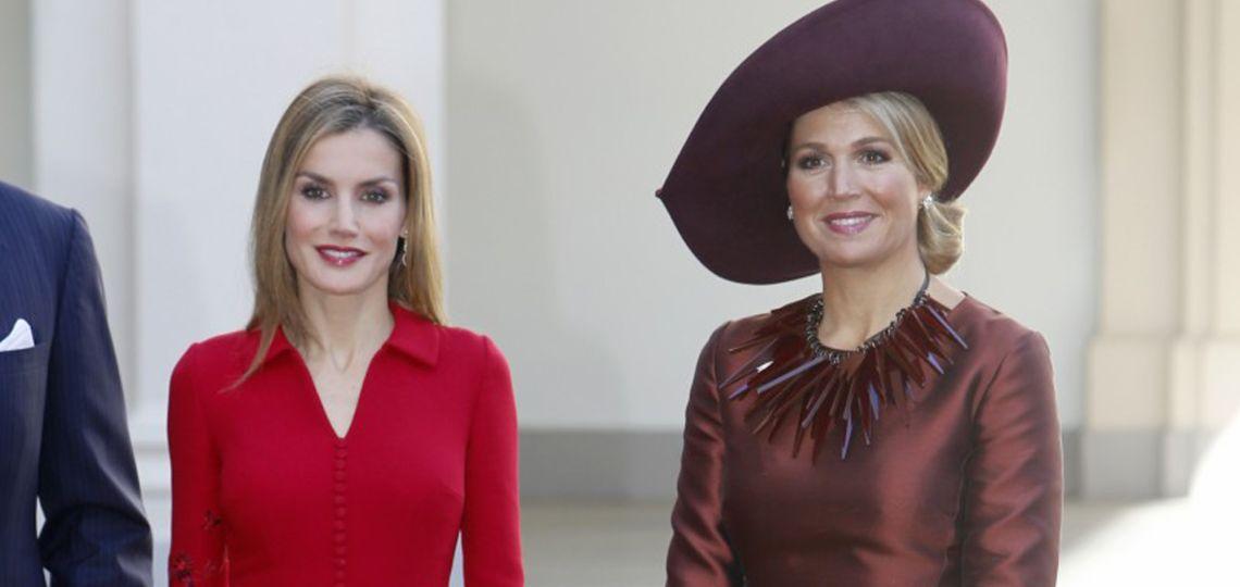 El detalle de estilo que Letizia copió de Máxima Zorreguieta
