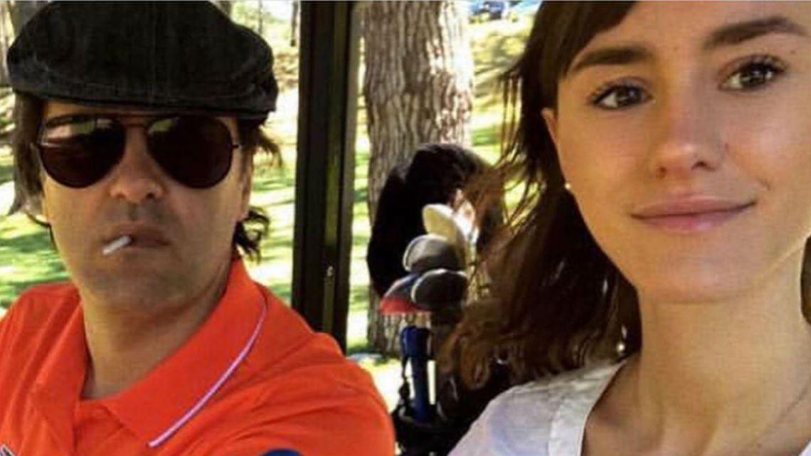 Andrés Ciro Martínez con su hija Katja