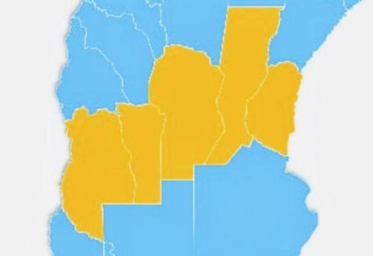 Mapa De Argentina Provincias.Nacio Argentinadelcentro La Idea Que Busca Independizar A