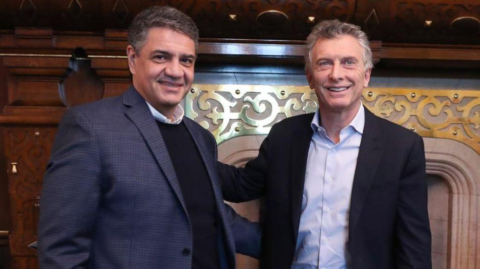 Mauricio y Jorge Macri