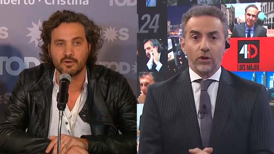 Santiago Cafiero y Luis Majul