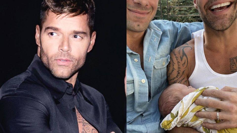 Ricky Martin presentó a su cuarto hijo, Renn