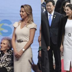 Las coincidencias entre Fabiola Yañez y la reina Letizia