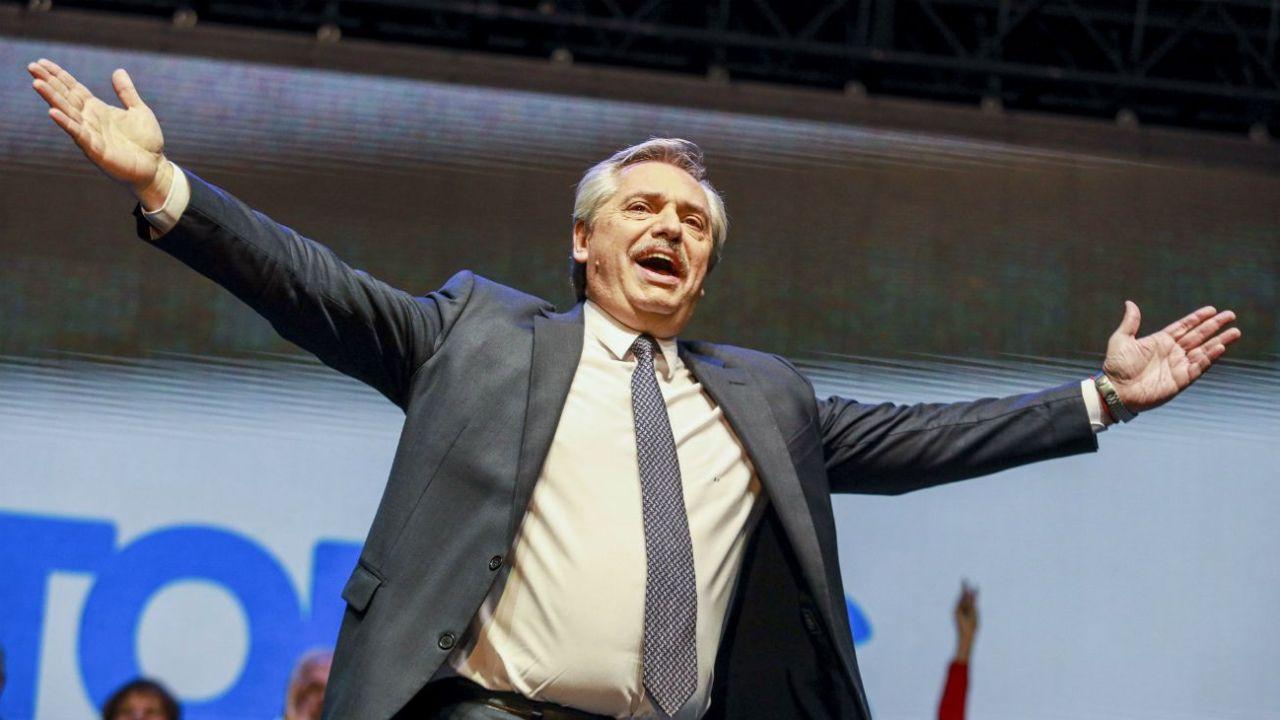 Alberto Fernández tiene que superar la grieta. | Foto:Cedoc