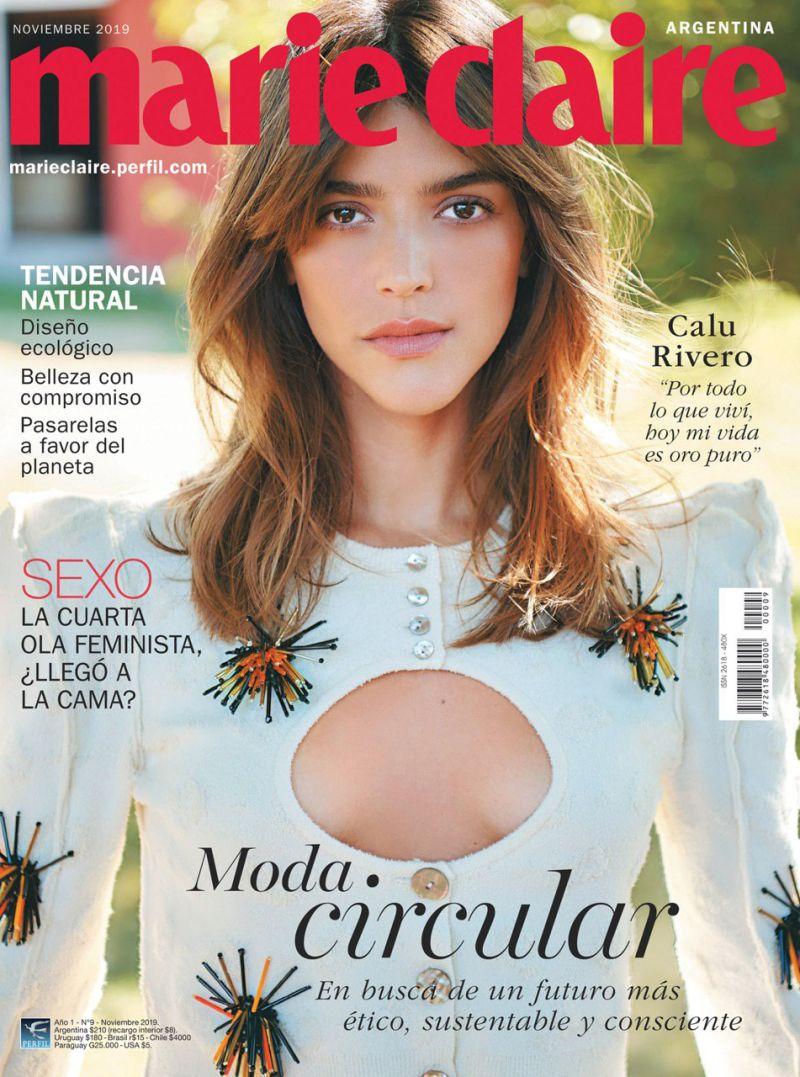 Marie Claire | Calu Rivero en el noveno número de Marie