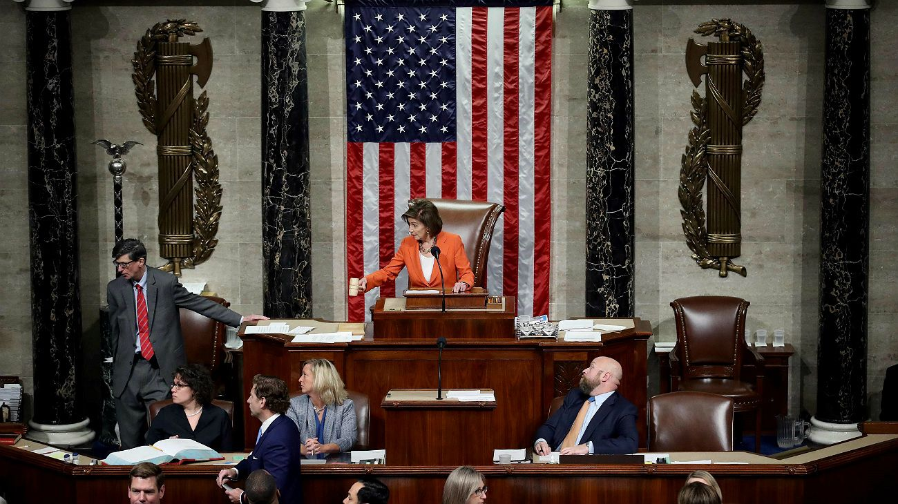 El Congreso de Estados Unidos formalizó el proceso para un juicio político a Trump