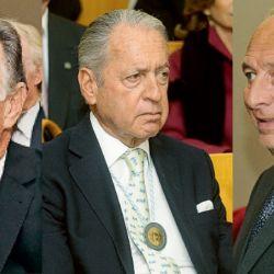 El constructor Gustavo Weiss, Daniel Funes de Rioja y José Luis Manzano | Foto:Marcelo Escayola