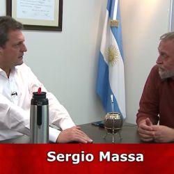 En el barro. Massa habló de su relación con Cristina, Larreta y Vidal | Foto:Cedoc.