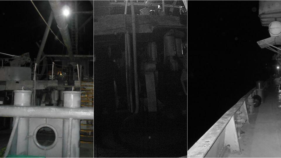 Parte del equipo de Dogma Argentina estuvo en el buque Museo ARA Irigoyen el 8 de agosto.