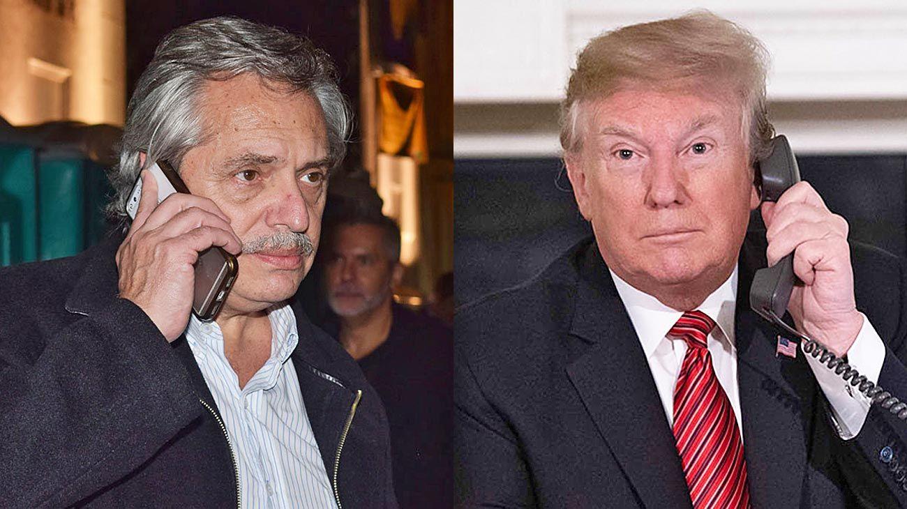 Hello. El embajador de EE.UU. gestionó la llamada que se concretó con un traductor de por medio.