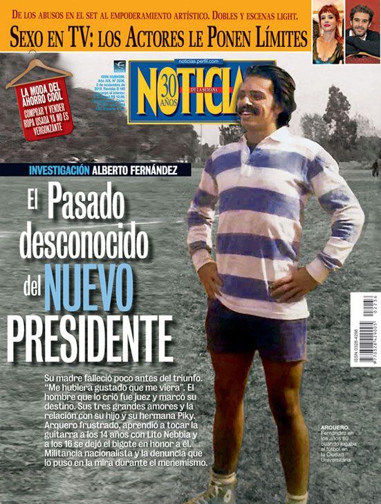 Investigacion Alberto Fernandez: la vida desconocida del nuevo presidente | Foto:Cedoc