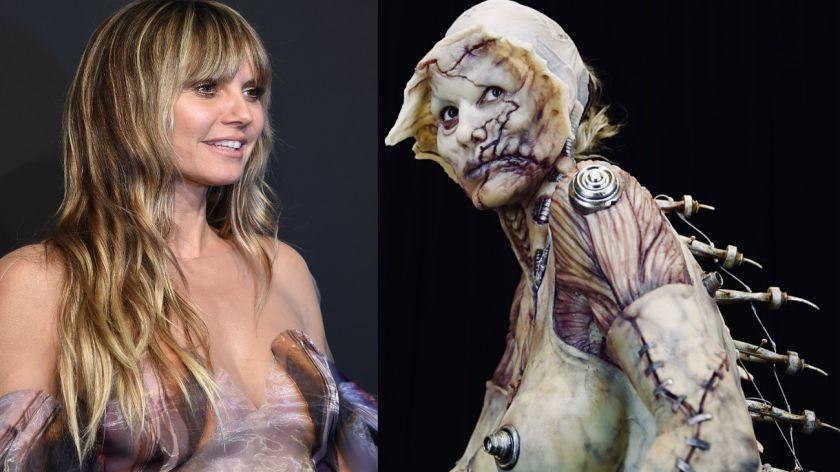 Heidi Klum Halloween 2021