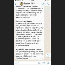 El hermano de Rodrigo Guirao Díaz fue acusado por robo