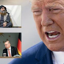 Trump. La traición a los kurdos le dificultará establecer alianzas. Putin y Erdogán, ganadores. La caza de Abu Bakr al Bagdadi lo ayudó a salir de una mala jugada.  | Foto:DPA