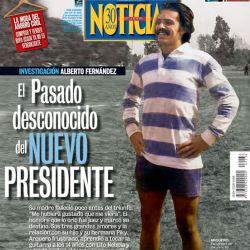 Investigacion Alberto Fernandez: la vida desconocida del nuevo presidente   Foto:Cedoc