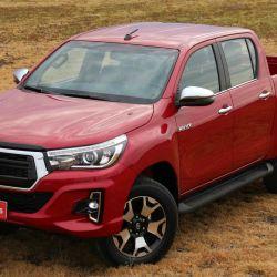Toyota Hilux, líder en ventas en la Argentina con 2.097 unidades patentadas en octubre.