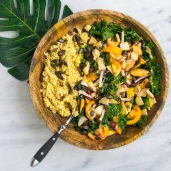 Opciones gourmet para celebrar un día bien veggie