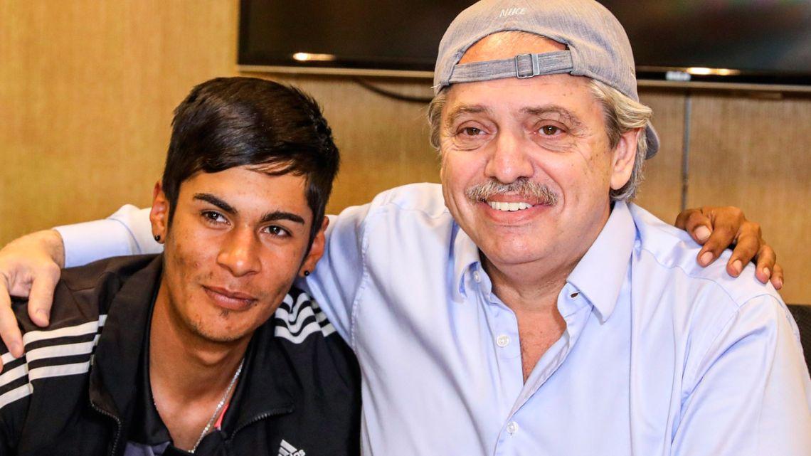 Brian Gallo and Alberto Fernández.