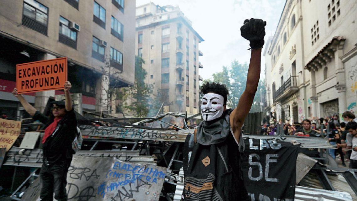 Protestas en Chile | Foto:Dpa