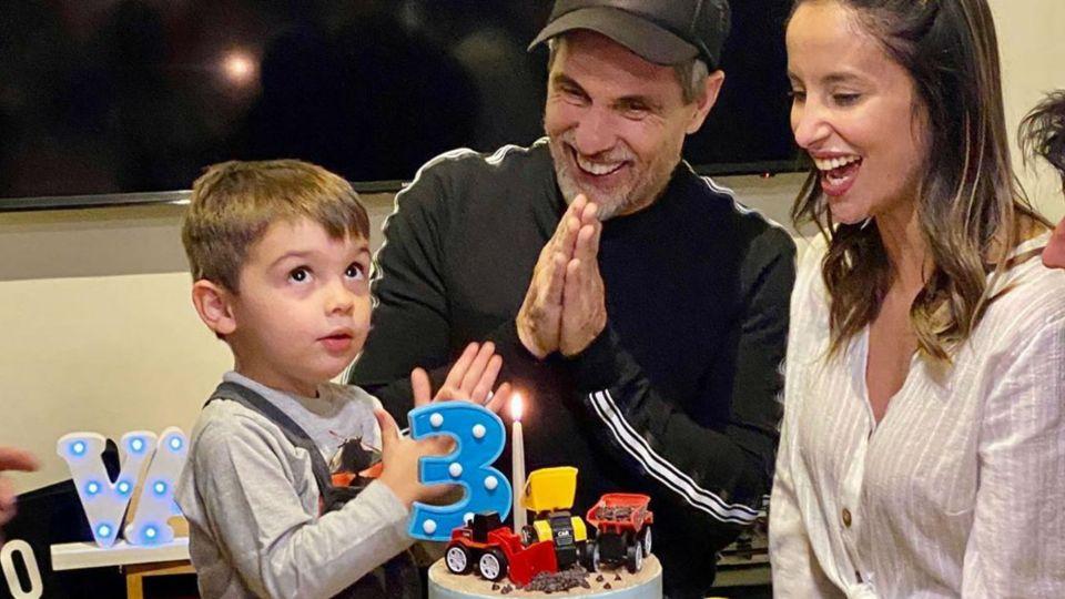 """El íntimo festejo de cumpleaños del hijo de Lourdes Sánchez y el """"Chato"""" Prada"""